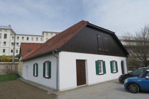 Das VinziDorf-Hospiz, Außenansicht