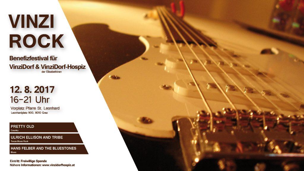 Vinzi-Rock: Musikfestival für VinziDorf & VinziDorf-Hospiz